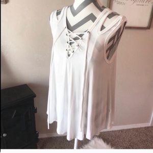 7448c5024d9 Cotton bleu boutique blouse size M